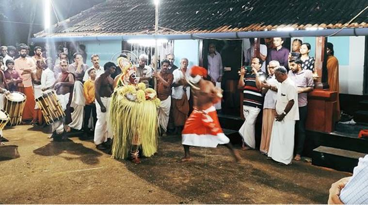 theyyam, Mappila theyyam, theyyam in Kerala, what is theyyam, Kamballur Kottayil Nair, Hindu muslim unity theyyam, kerala news, indian express news,