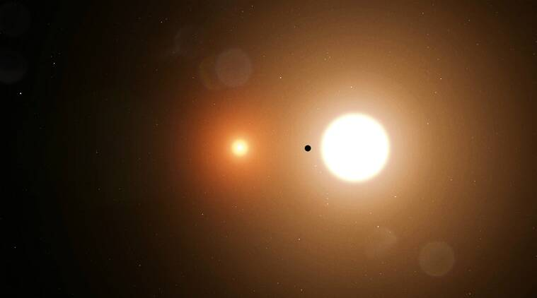 nasa intern found planet, toi 1338 b, tess, wolf cukier, nasa intern, circumbinary planet, planet revolving around two stars