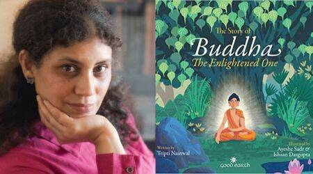 Tripti Nainwal, story of buddha, children books