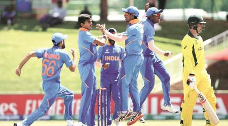 india u19 world cup, india vs australia, ind vs aus, Kartik Tyagi, Kartik Tyagi bowling, who is Kartik Tyagi, under 19 world cup news, kartik tyagi, cricket news