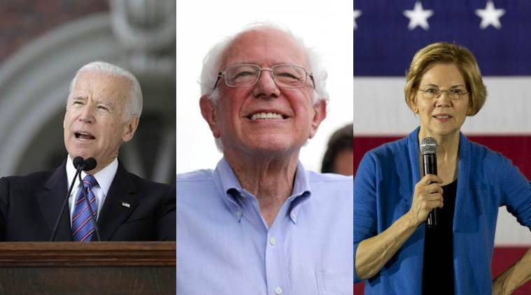 democrats reaction to sotu, sotu 2020, trump sotu, trump sotu speech, Amy Klobuchar, Elizabeth Warren, Bernie Sanders, Joe Biden, Michael Bloomberg