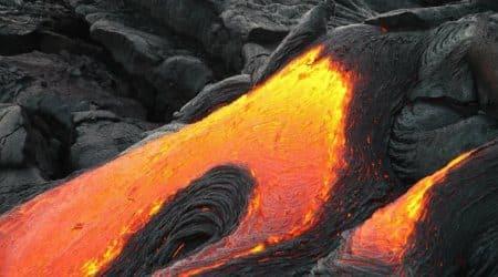 volcano on venus, venus volcano, venus lava flow, esa, venus express orbiter