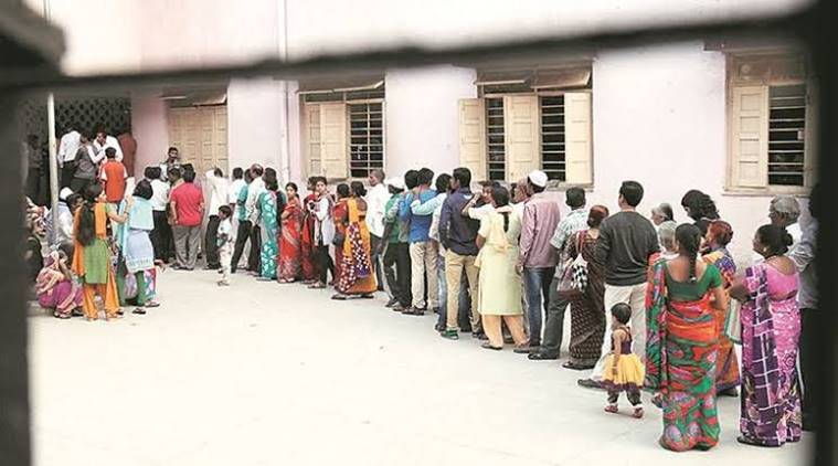 pune news, pune city news, maharashtra news, polling booth in pune, family can vote at same polling both, indian express news