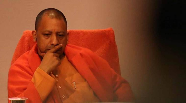 yogi meets bjp chief, yogi and bjp chief, latest news on Chief Minister Yogi Adityanath, news on Chief Minister Yogi Adityanath, lucknow news, indian express news