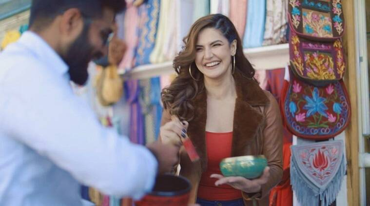 zareen khan jeep bollywood trails new show