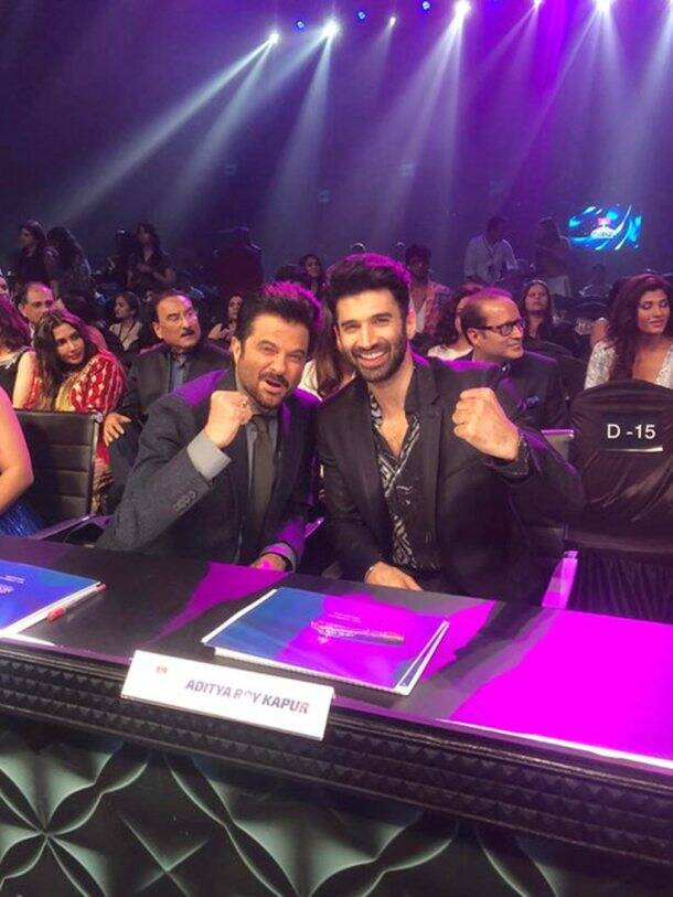 anil kapoor and aditya roy kapur at miss diva finale 2020