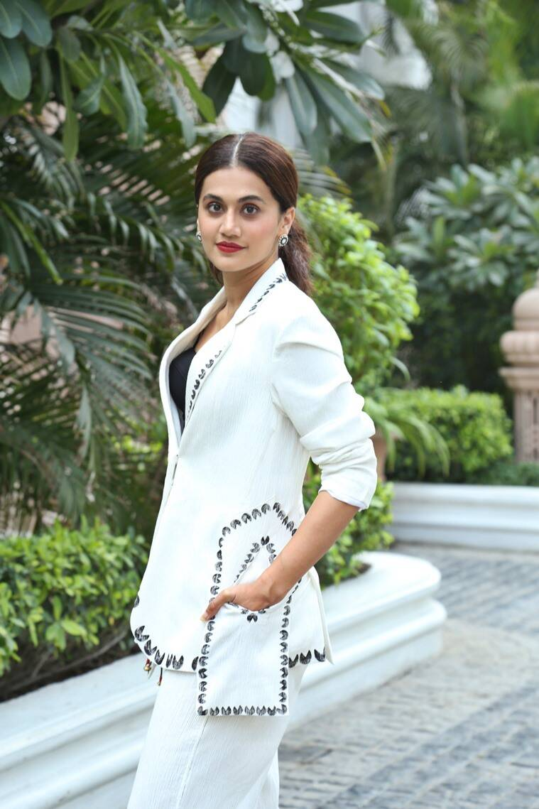 Taapsee Pannu Thappad, Taapsee Pannu Thappad movie, Thappad movie release date, Taapsee Pannu latest photos, Taapsee Pannu, indian express, lifestyle
