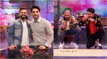 Suresh Raina, Shikhar Dhawan, Virendra Sehwag and other cricketers descend on Zing Game On