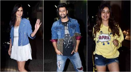 Katrina Kaif, Arjun Kapoor, Janhvi Kapoor and others attend the screening of Bhoot The Haunted Ship