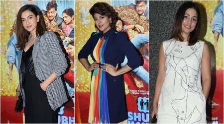 Hina Khan, Gauahar Khan, Tahira Kashyap and others attend the screening of Shubh Mangal Zyada Saavdhan