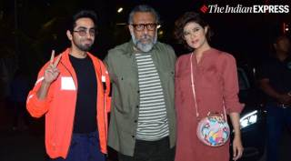 Ayushmann Khurrana, Divya Dutta, Radhika Madan and others attend screening of Thappad