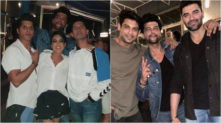 Sidharth Shukla, Nia Sharma, Sargun Mehta and others party together