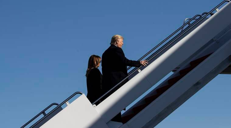 'Eager to land in India,' tweets Trump in Hindi as PM Modi reaches Ahmedabad for grand welcome