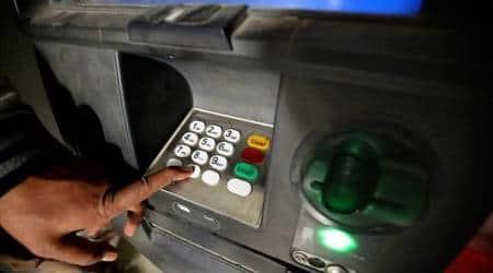 ATMs theft, ATM vandalized, Money stolen, Gandhinagar news, Gujarat news, Indian express news