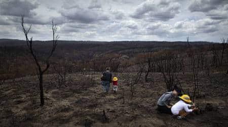 Australia bushfires, Australia wildfires, Australia climate change, global cimate change, Scott Morison, New South wales fires, Australia news, world news, indian express news, breaking news.