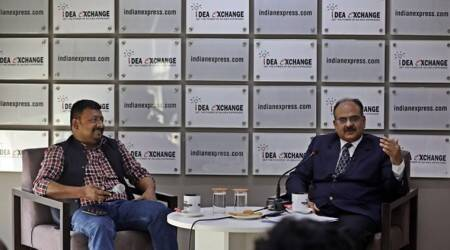 Ajay Bhushan Pandey interview, Ajay Bhushan Pandey revenue secretary, idea exchange Ajay Bhushan Pandey, India economic slowdown, indian express news