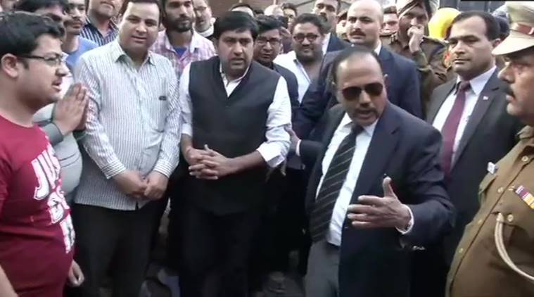 'Inshallah, there will be complete peace here': NSA Ajit Doval tours violence-hit northeast Delhi