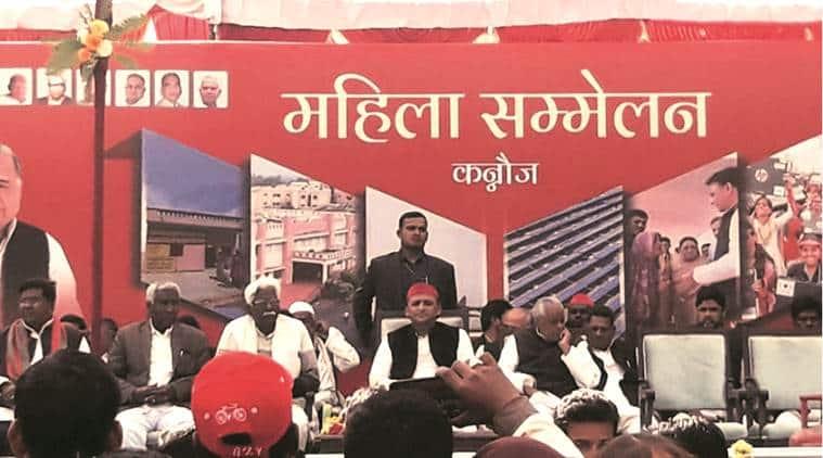 Akhilesh Yadav, Akhilesh rally, Kannauj police, uttar pradesh news, indian express news