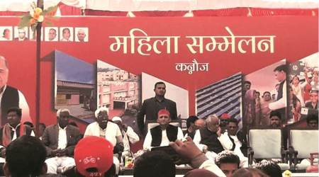 Akhilesh Yadav, Akhilesh rally, Kannauj police, uttar pradesh news, indian express news