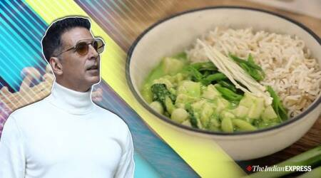 Akshay Kumar, Akshay Kumar thai curry, Akshay Kumar favourite food, Akshay Kumar favourite thai curry, easy thai curry video, indian express news