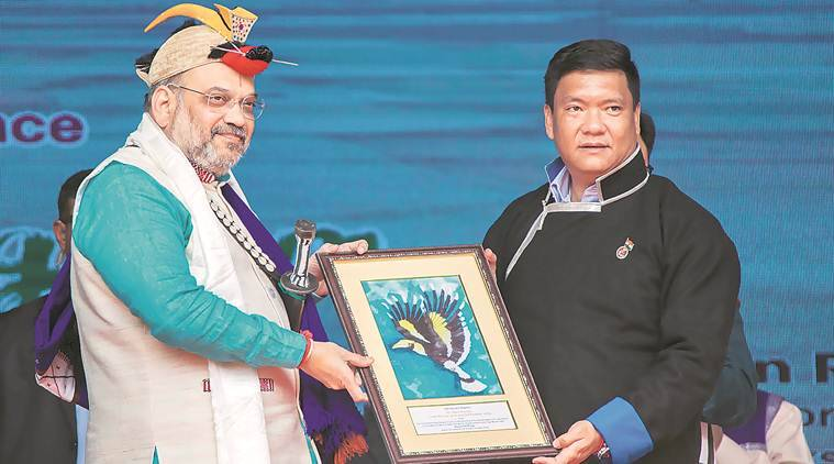 Amit Shah, Amit Shah on article 371, North-East special status, amit shah in arunachal pradesh, north east news