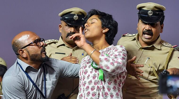 Amulya Leona, Amulya Leona sedition case, Bengaluru sedition case, Bengaluru girl sedition case, Amulya Leona case, Amulya Leona pro Pakistan slogans, India news, Indian Express
