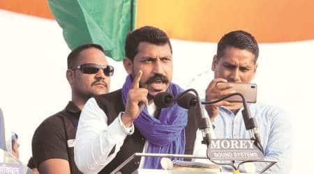 Chandrashekhar Azad BHIM army, BHIM army Chandrashekhar Azad, Amit Shah Delhi violence, Indian Express news