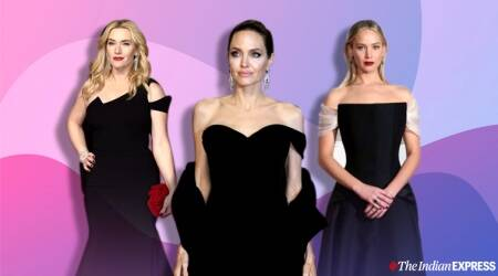 baftas, BAFTA Awards 2020, BAFTA awards 2019 fashion, Duke and duchess of cambridge, kate middelton, JK Rowling, angelina Jolie, irina shayak latest photos, indian express