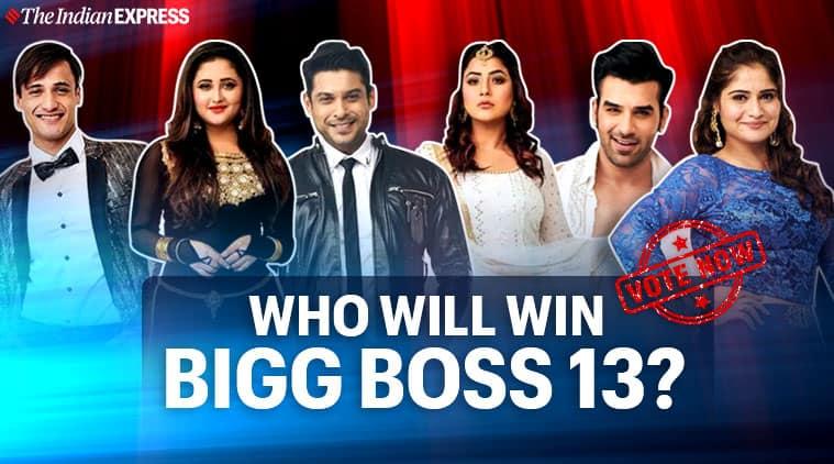 bigg boss 13 finale poll
