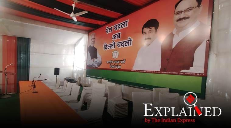 Delhi results, Delhi election results, Delhi BJP, Delhi BJP vote share, Delhi BJP votes, Delhi BJP elections, Delhi elections BJP, Express Explained
