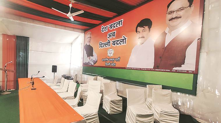 BJP found favour with migrants in Capital