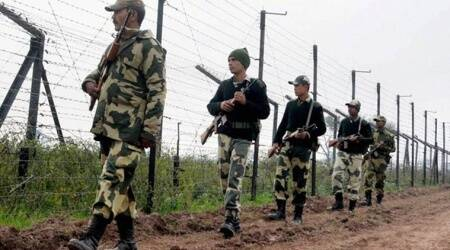 BSF institutes COVID-19 safety measures for personnel for harvesting across border fence