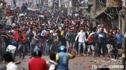 Stone-pelting near CAA protest site, Delhi metro closes two stations