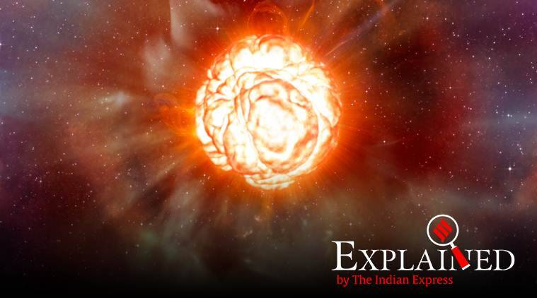 Explained: What is causing the supergiant star Betelgeuse to dim and change its shape?