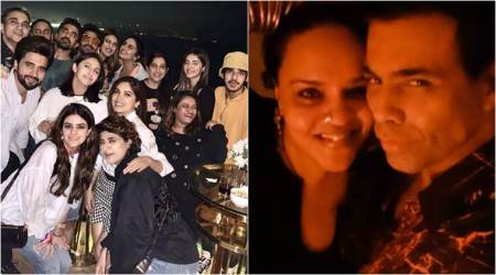 Inside Bhumi Pednekar's house party