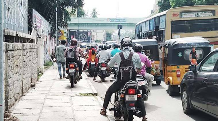 Chennai, Chennai cyclist, Chennai motorist, Chennai traffic, Bicycle Mayor, Cycling Group' in Chennai, Road rules, Road safety, pedestrians, Smart City project, Tamil Nadu Government, Chennai city roads, Indian Express News, Chennai News,