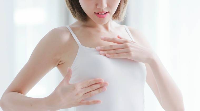 breast cancer,breast cancer awareness, breast cancer screening, breast size in women, study on breast size, breast cancer prevention, health, indian express, indian express news