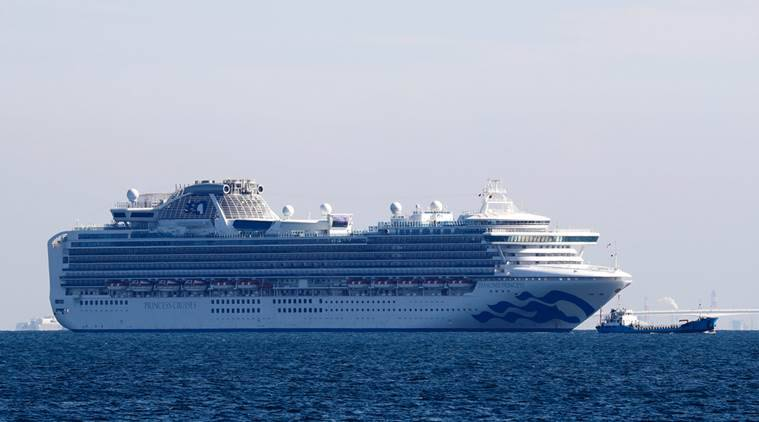 Cruise ship Diamond Princess