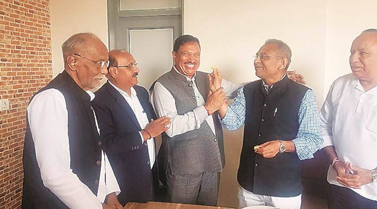 Vishva Gujarati Samaj, CK patel, Gandhinagar news, gujarat news, indian express news
