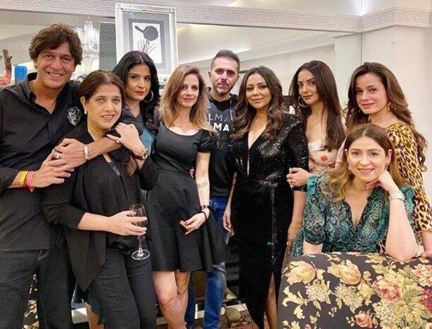 gauri khan party