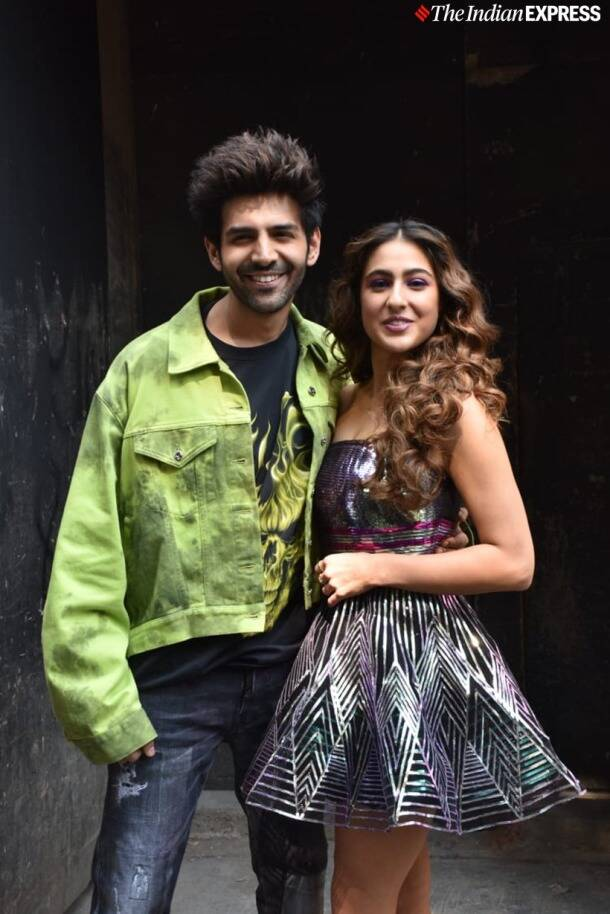kartik aaryan with sara ali khan