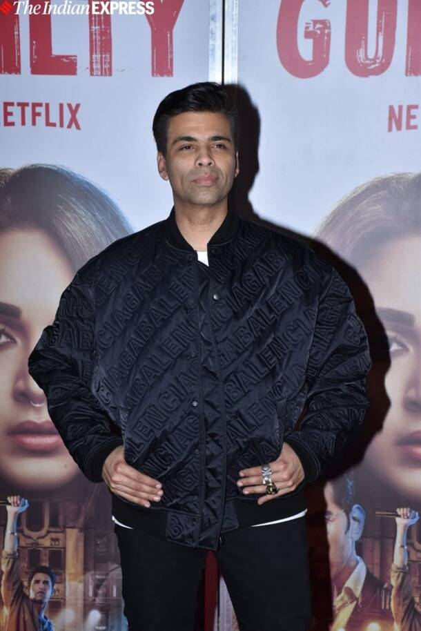 karan johar at guilty trailer launch