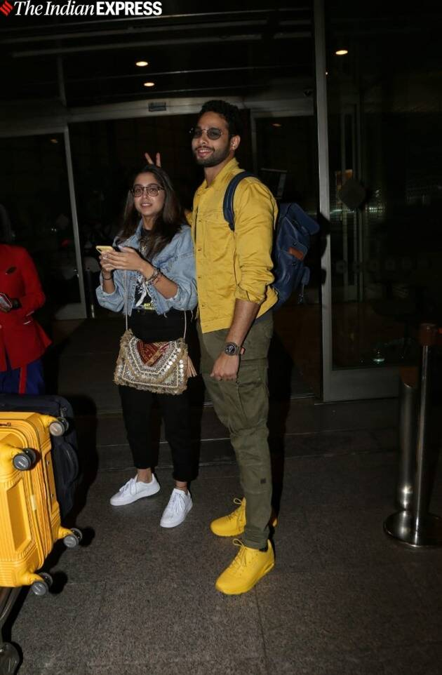 sharvari with siddhant chaturvedi