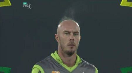 Chris Lynn, Chris Lynn steaming head, Chris Lynn in PSL, viral video of Chris Lynn, PSL Chris Lynn,