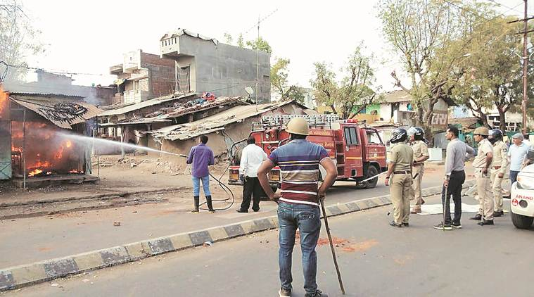 Vadodara: 13 injured as groups clash, set fire to houses and shops