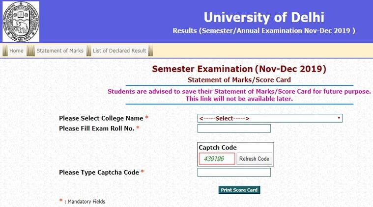 DU result 2019 declared: Steps to download scorecard online