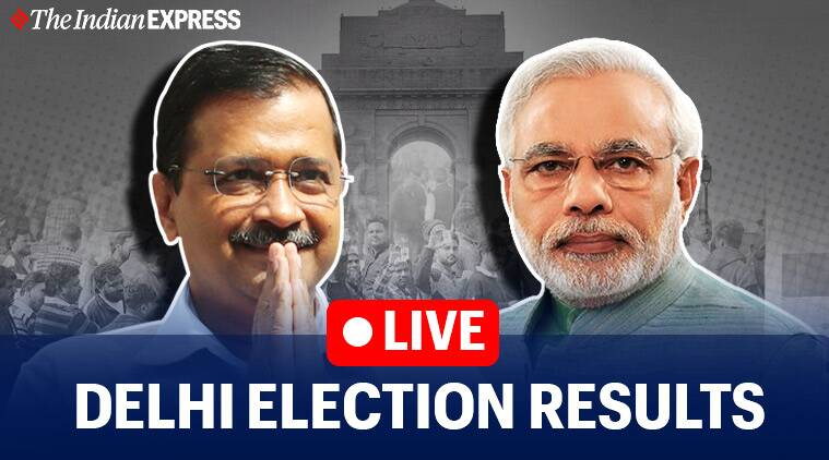 Delhi Election Results 2020 LIVE Updates: