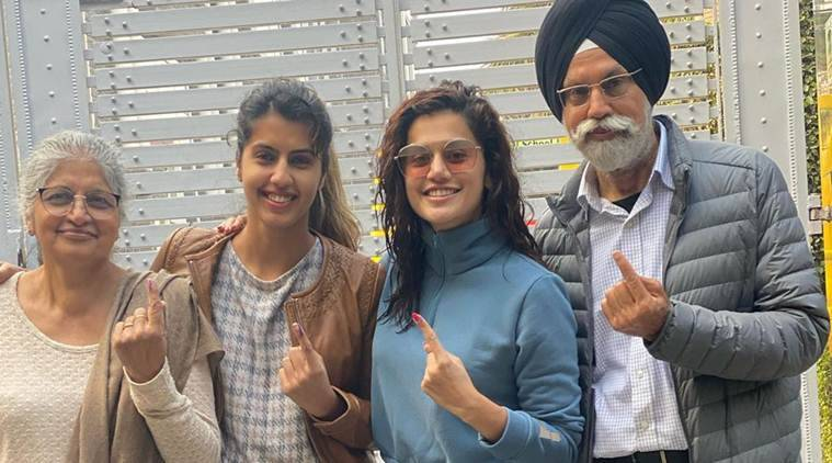 Taapsee Pannu Delhi Elections 2020