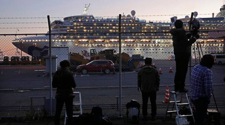 Coronavirus Japan Diamond Princess ship, Cruise ship coronavirus, Covid 19 virus China, Indian Express world news
