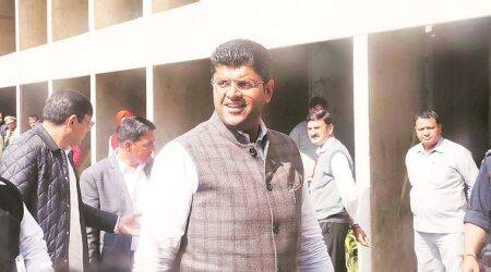 'Hooda introduced permits to allow 12 liquor bottles at home, we streamlined it,' says Dy CM Dushyant Chautala